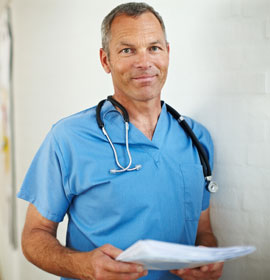 Doctor in Healthcare Facility