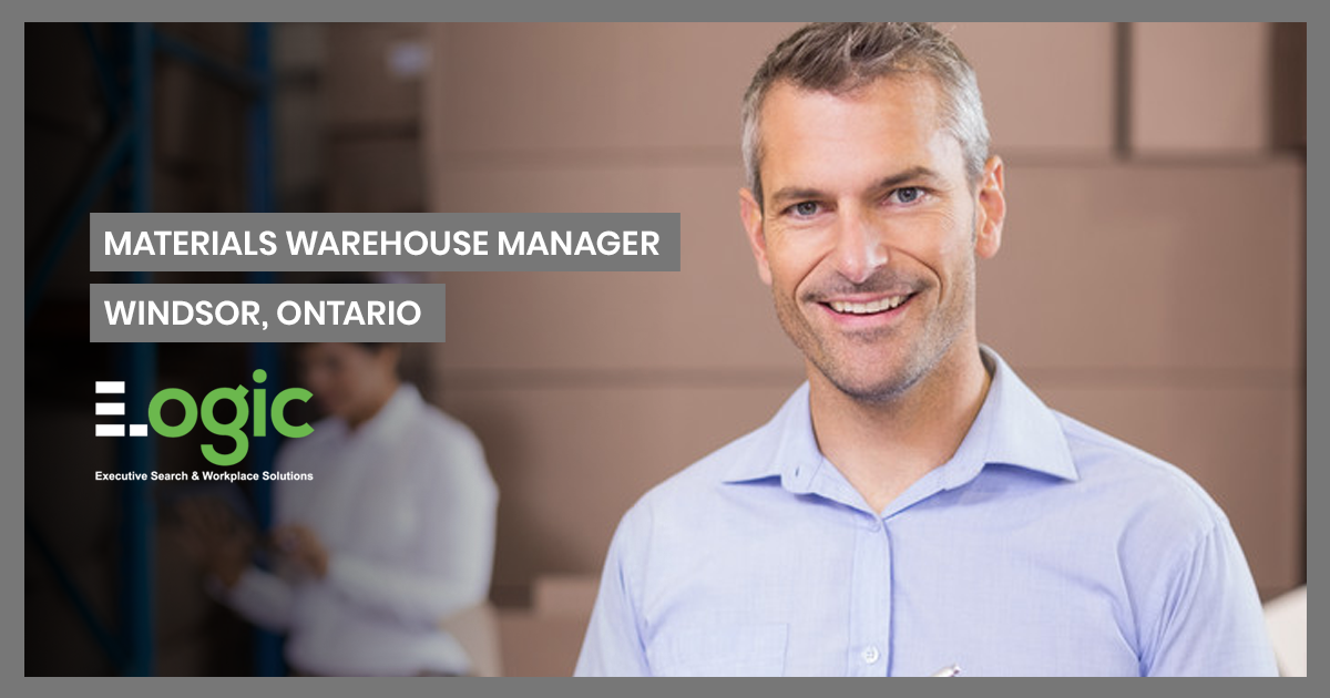 materials warehouse manager